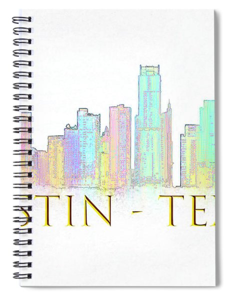 Austin Skyline Spiral Notebook