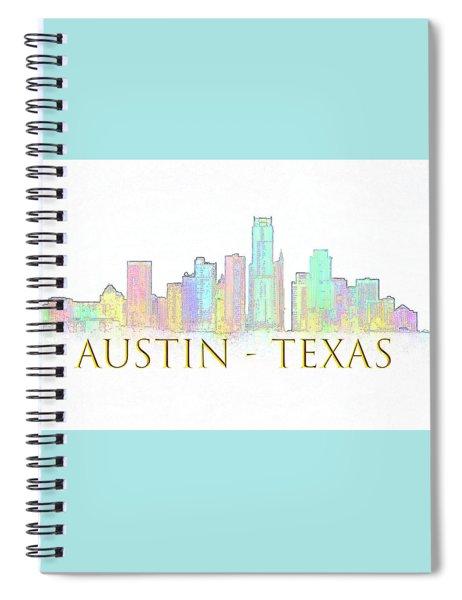 Austin Skyline Spiral Notebook