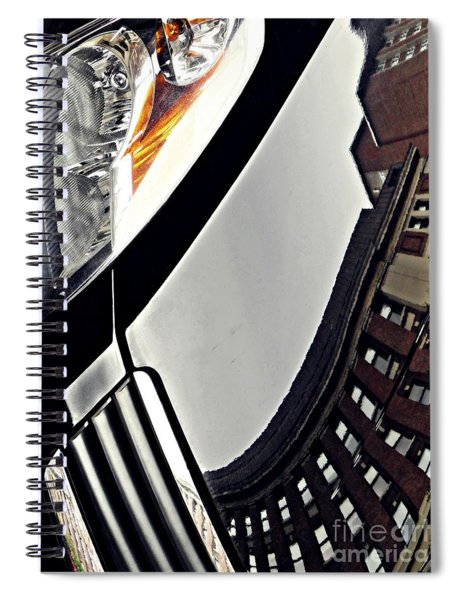 Auto Headlight 130 Spiral Notebook
