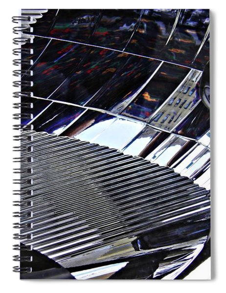 Auto Headlight 172 Spiral Notebook