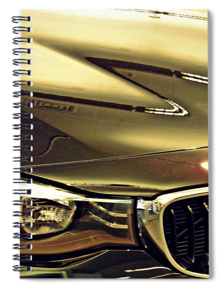 Auto Headlight 173 Spiral Notebook