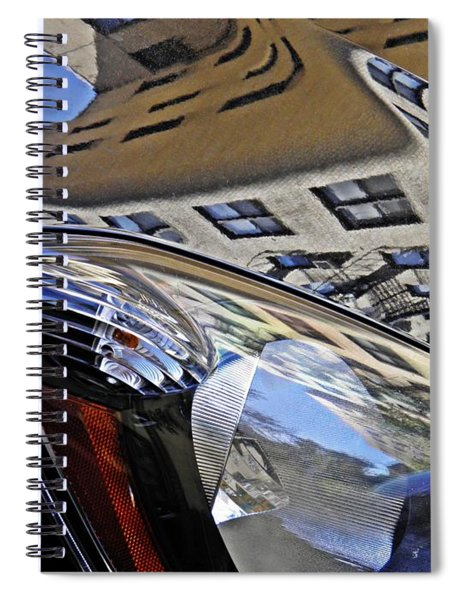 Auto Headlight 178 Spiral Notebook