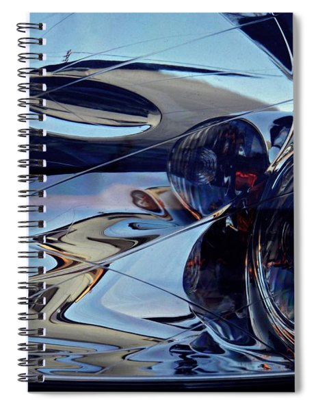 Auto Headlight 184 Spiral Notebook
