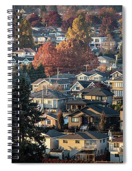 Autumn At Home Spiral Notebook