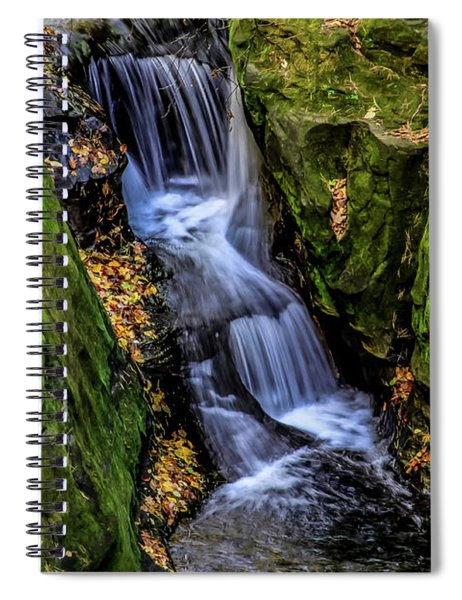 Autumn At Pewits Nest Spiral Notebook