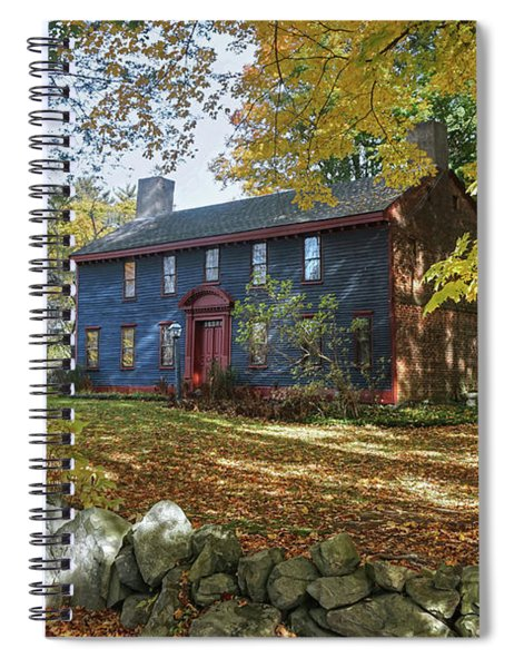 Autumn At Short House Spiral Notebook