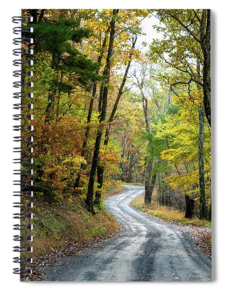 Autumn Begins  Spiral Notebook
