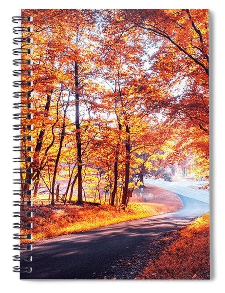 Autumn Calling Spiral Notebook