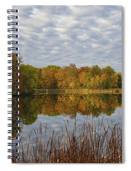 Autumn Clarity Spiral Notebook