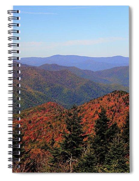 Autumn Coming Spiral Notebook