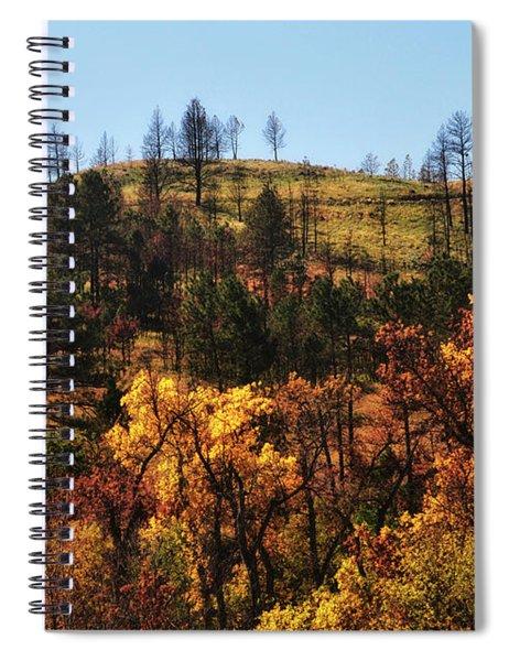 Autumn Custer State Park South Dakota United States Of America Spiral Notebook