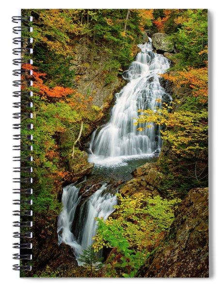Autumn Falls, Crystal Cascade Spiral Notebook