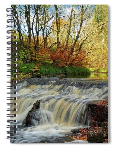 Autumn Flow Spiral Notebook