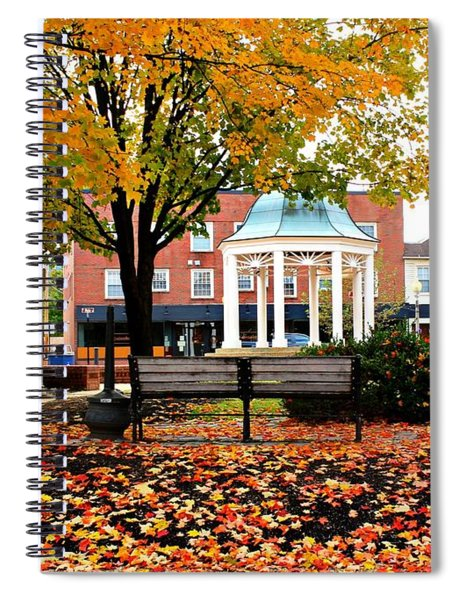 Autumn Gatherings  Spiral Notebook