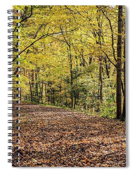 Autumn Haze Spiral Notebook