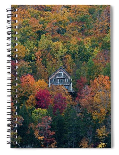 Autumn In Maine Spiral Notebook
