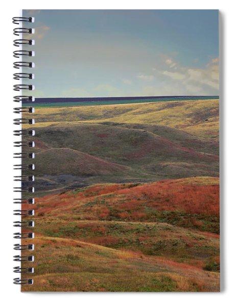 Autumn In South Dakota Usa Spiral Notebook