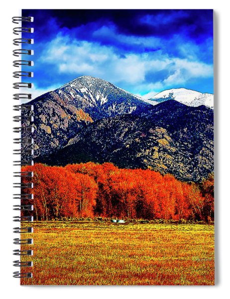 Autumn In Taos New Mexico Spiral Notebook