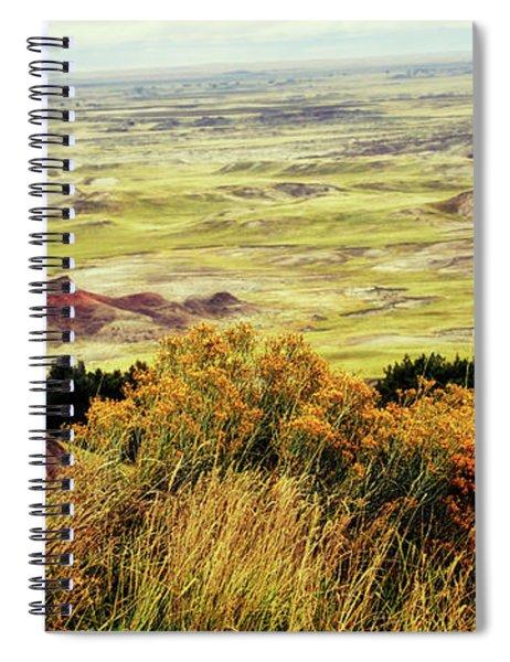 Autumn In The Badlands South Dakota Usa Spiral Notebook