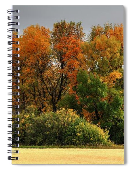 Autumn Is Nigh  Spiral Notebook