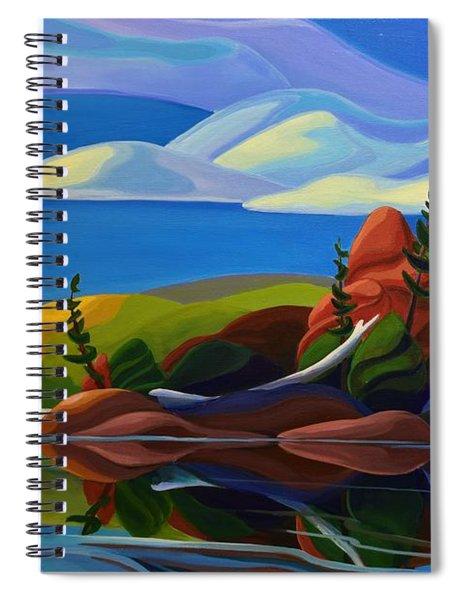 Autumn Island Spiral Notebook