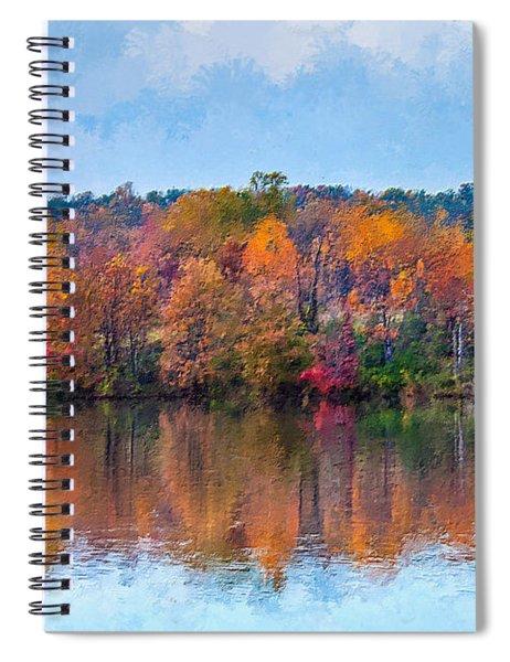 Autumn Lake  Spiral Notebook