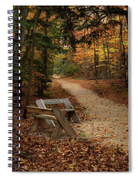 Autumn Meetup Spiral Notebook