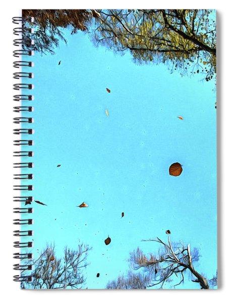 Autumn Mood Spiral Notebook