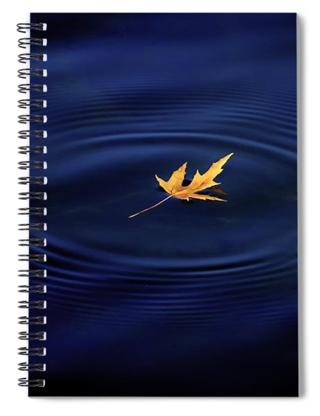 Autumn Peace Spiral Notebook by Allin Sorenson