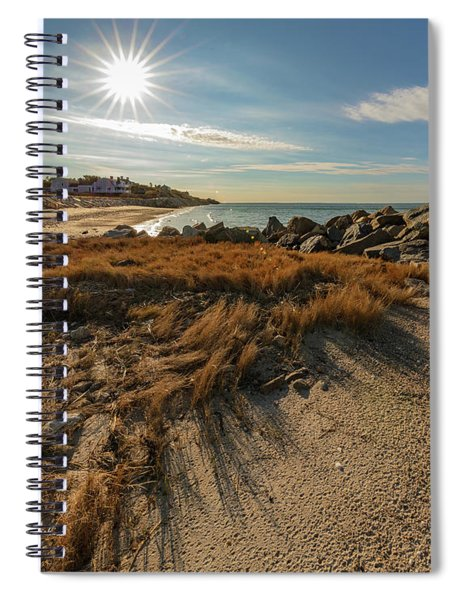 Autumn Rays Over Cape Cod Spiral Notebook
