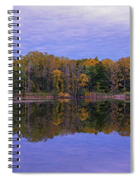 Autumn Reflections Of Maybury Spiral Notebook