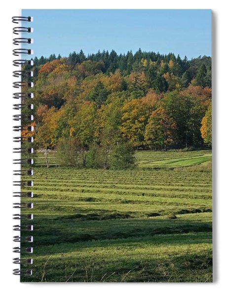 Autumn Scenery Spiral Notebook