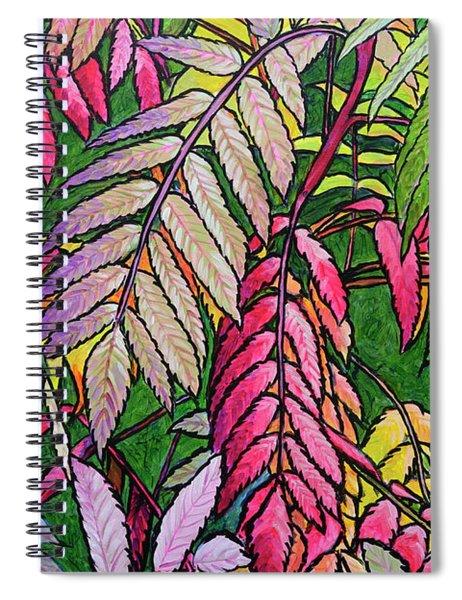 Autumn Sumac Spiral Notebook