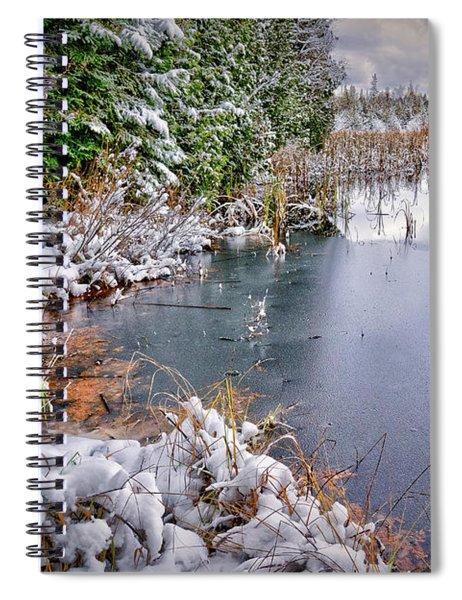 Autumn To Winter Spiral Notebook