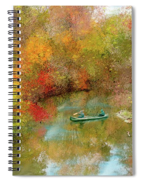 Autumn's Beauty Spiral Notebook