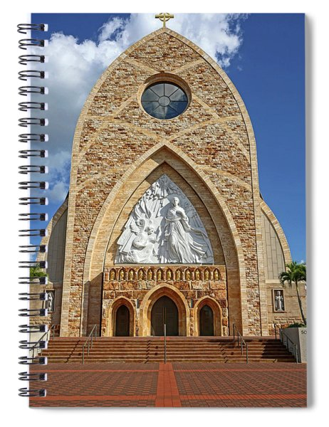 Ave Maria Cathedral Spiral Notebook