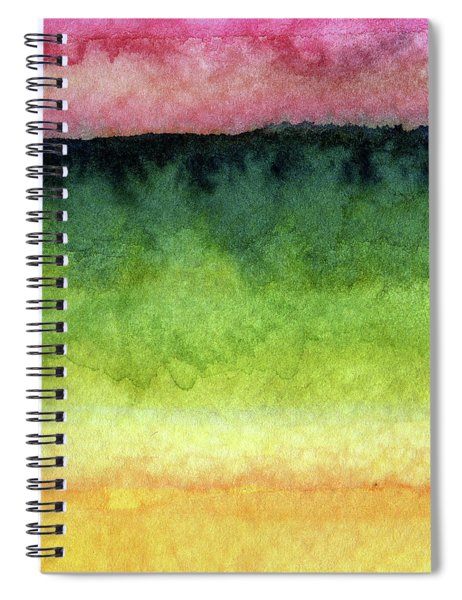Awakened Too Spiral Notebook by Linda Woods