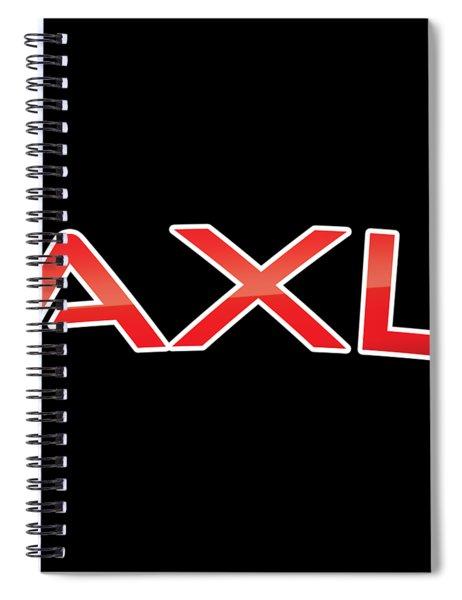 Axl Spiral Notebook