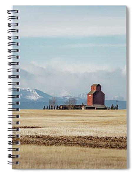 Azure Elevator Spiral Notebook