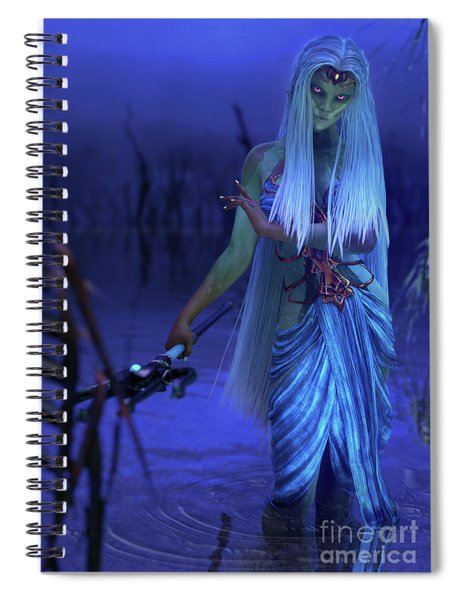 Azure Spiral Notebook