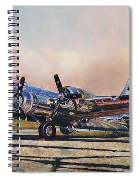 B-17g Sentimental Journey Spiral Notebook