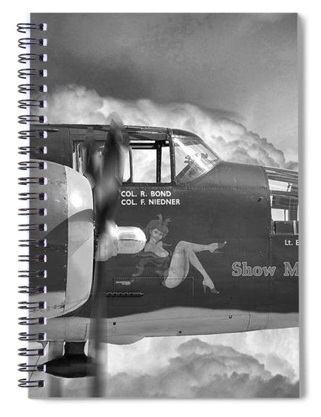 B-25 Mitchell Show Me Spiral Notebook