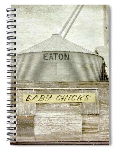 Baby Chicks Feed And Seed Store Spiral Notebook
