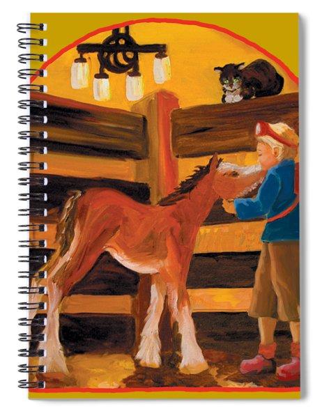 Baby Cricket's Kiss Spiral Notebook