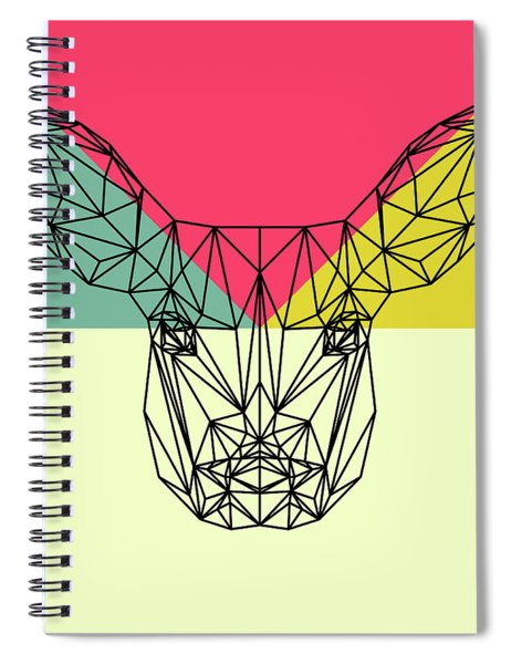 Baby Deer Polygon  Spiral Notebook