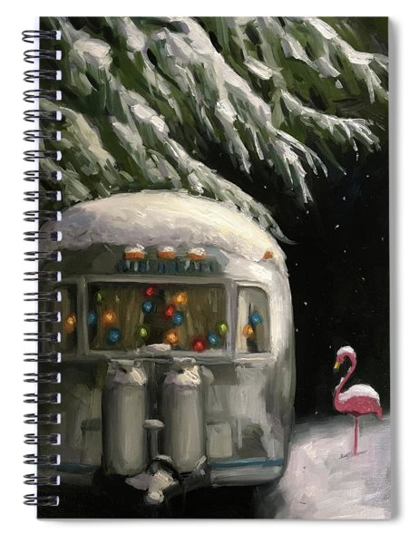 Baby, It's Cold Outside Spiral Notebook