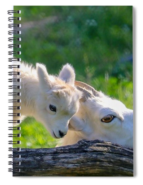 Baby Loves Mama Spiral Notebook