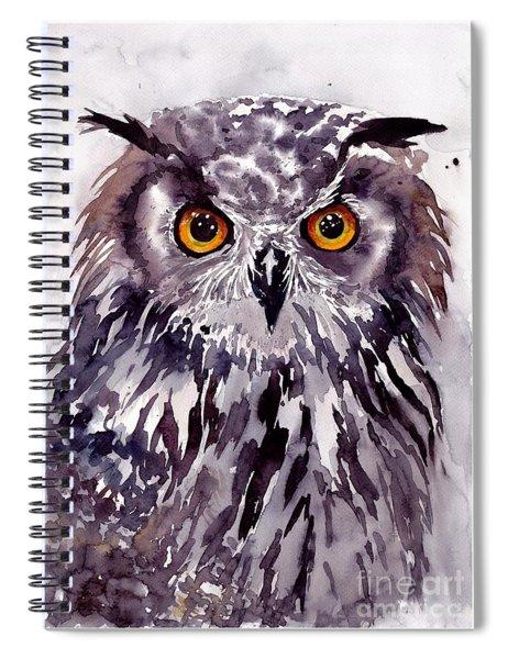 Baby Owl Spiral Notebook