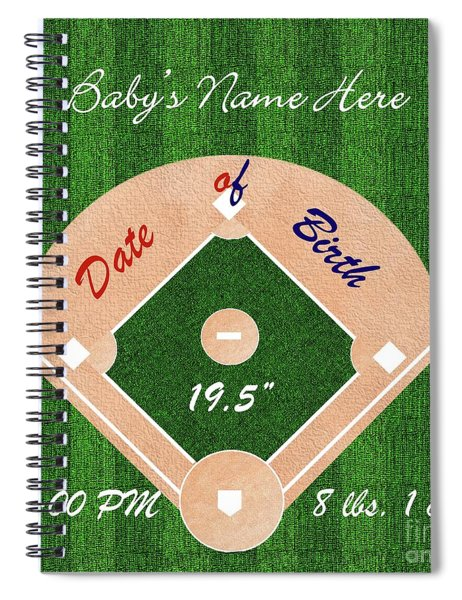 Baby's Commemorative Gift Spiral Notebook