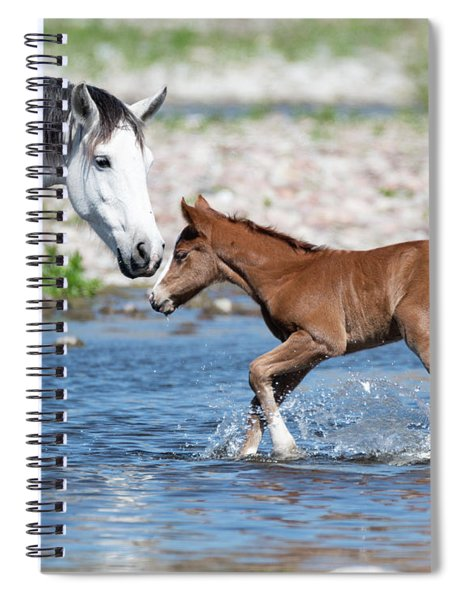Baby's First River Trip Spiral Notebook